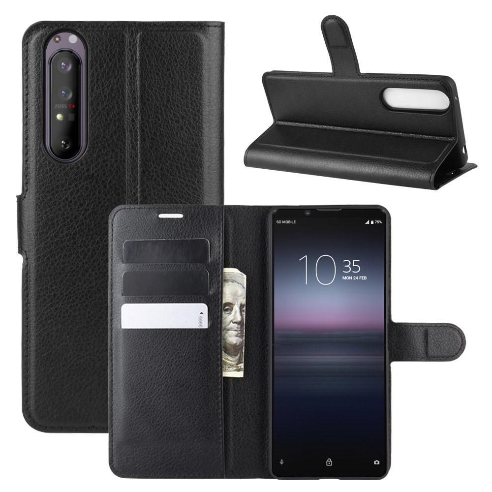 Mobilveske Sony Xperia 1 II svart