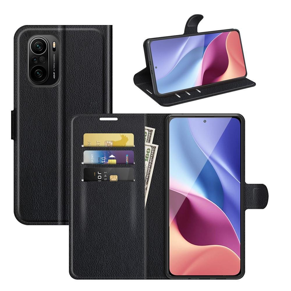 Mobilveske Xiaomi Mi 11i svart
