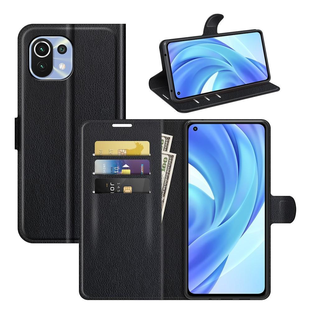 Mobilveske Xiaomi Mi 11 Lite 5G svart