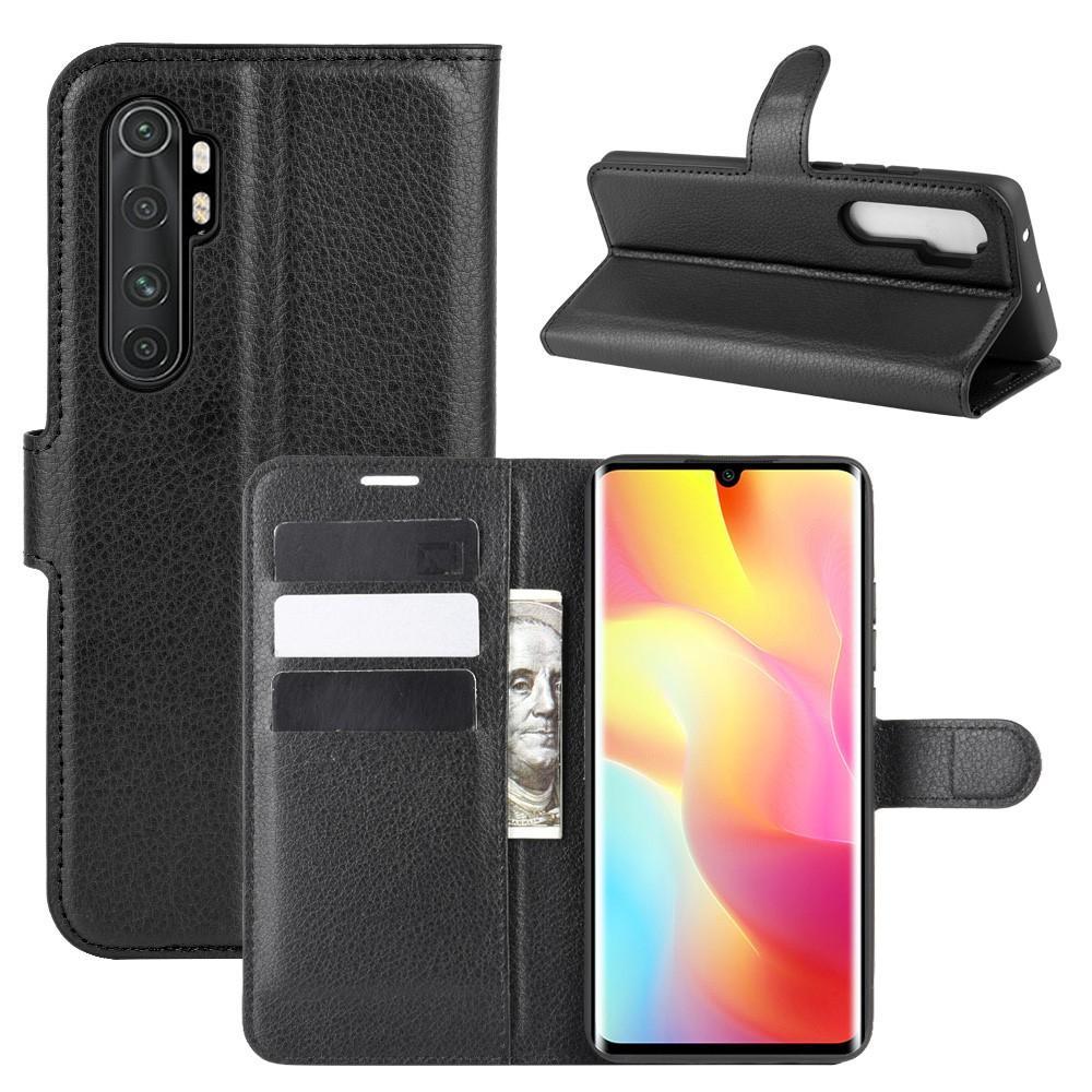Mobilveske Xiaomi Mi Note 10 Lite svart