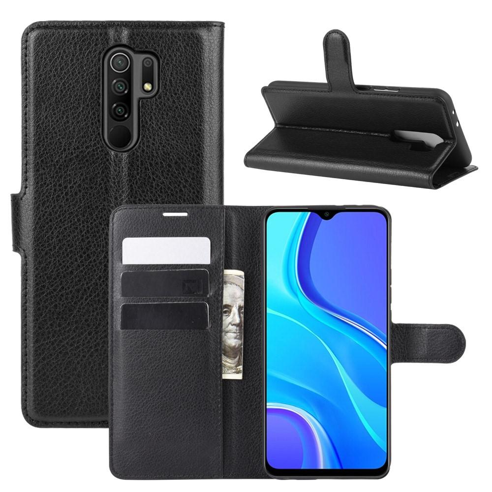 Mobilveske Xiaomi Redmi 9 svart