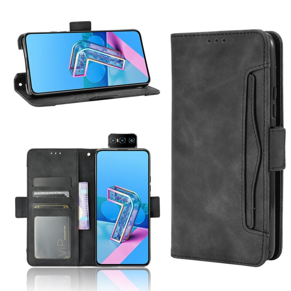 Multi Lommebokdeksel Asus ZenFone 7/7 Pro svart
