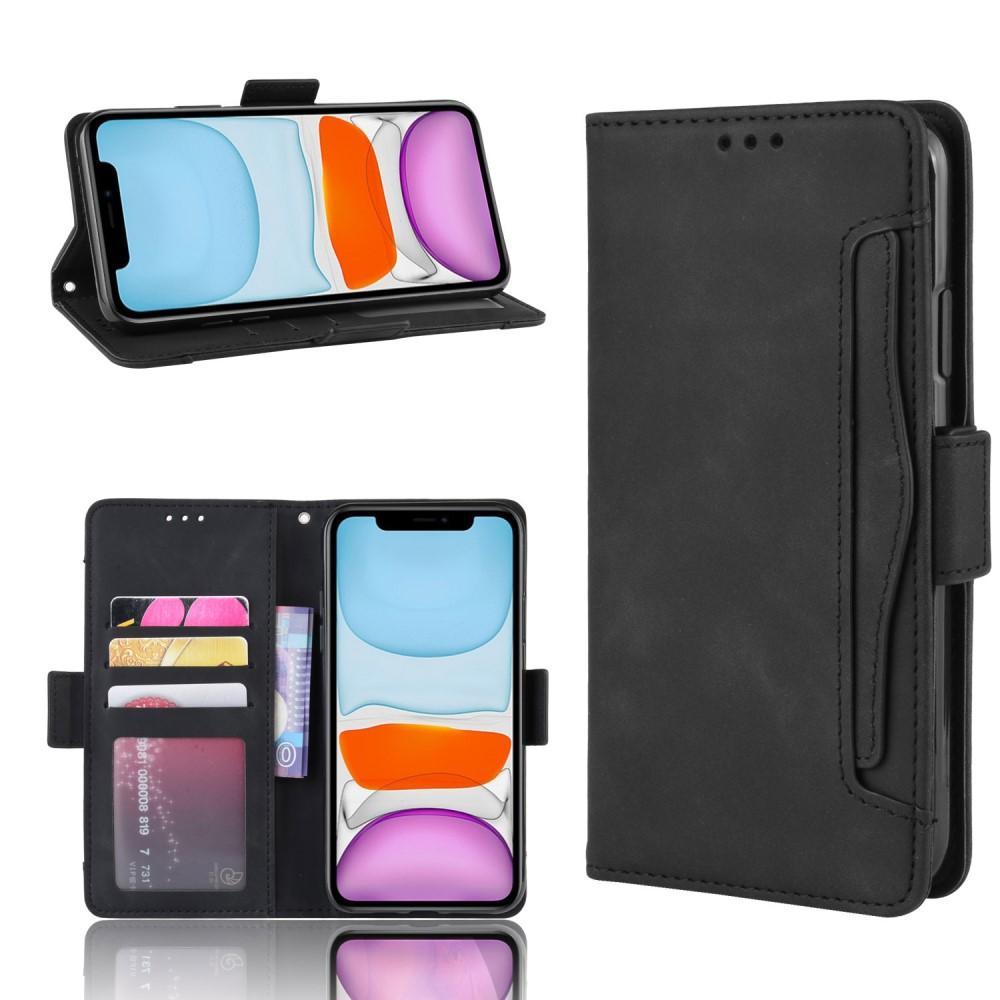 Multi Lommebokdeksel iPhone 12 Mini svart