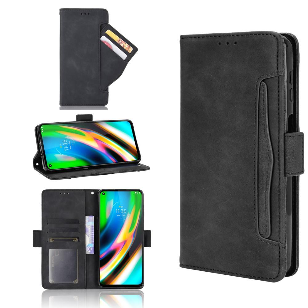 Multi Lommebokdeksel Motorola Moto G9 Plus svart