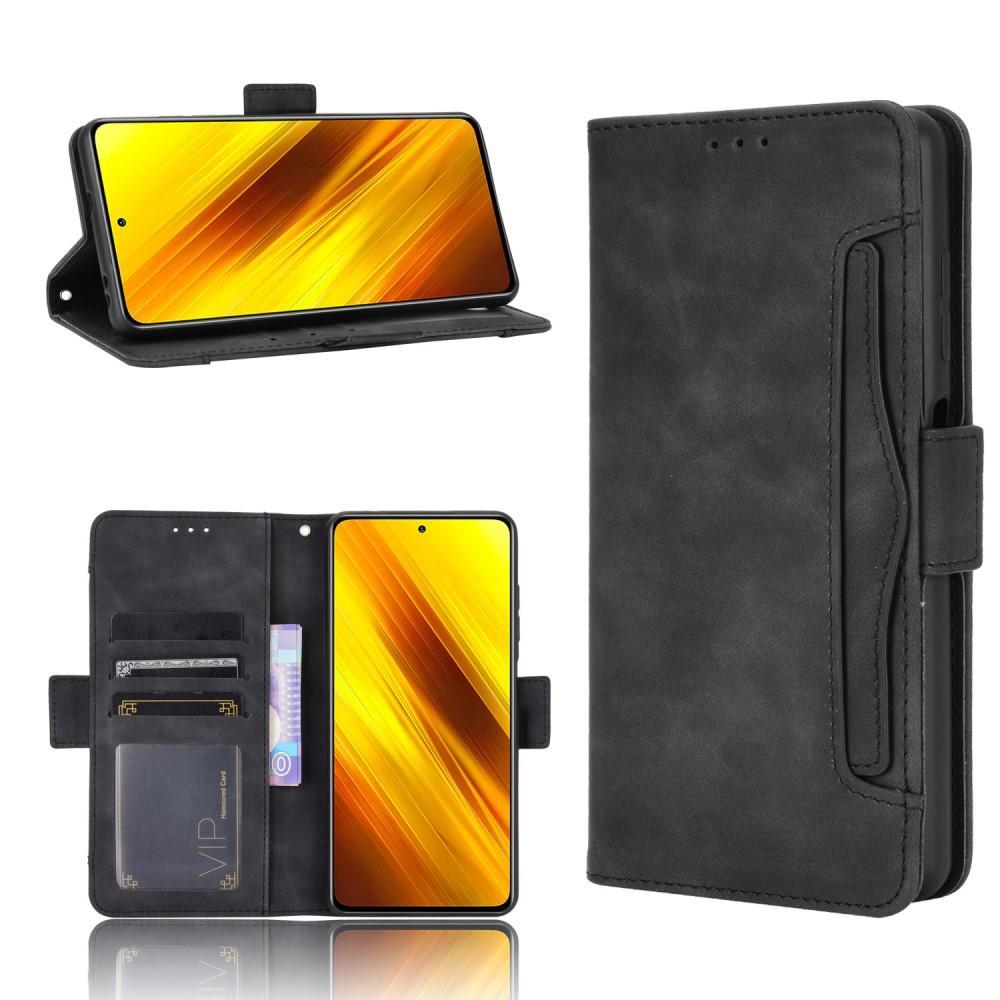 Multi Lommebokdeksel Poco X3 NFC svart