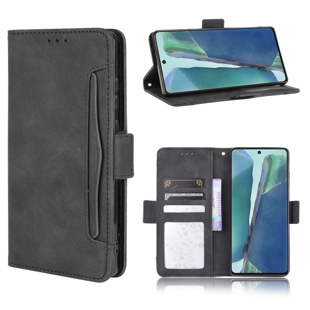 Multi Lommebokdeksel Samsung Galaxy S20 FE svart