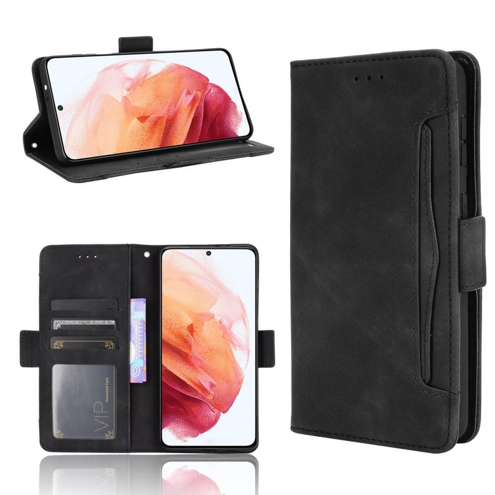 Multi Lommebokdeksel Samsung Galaxy S21 Plus svart