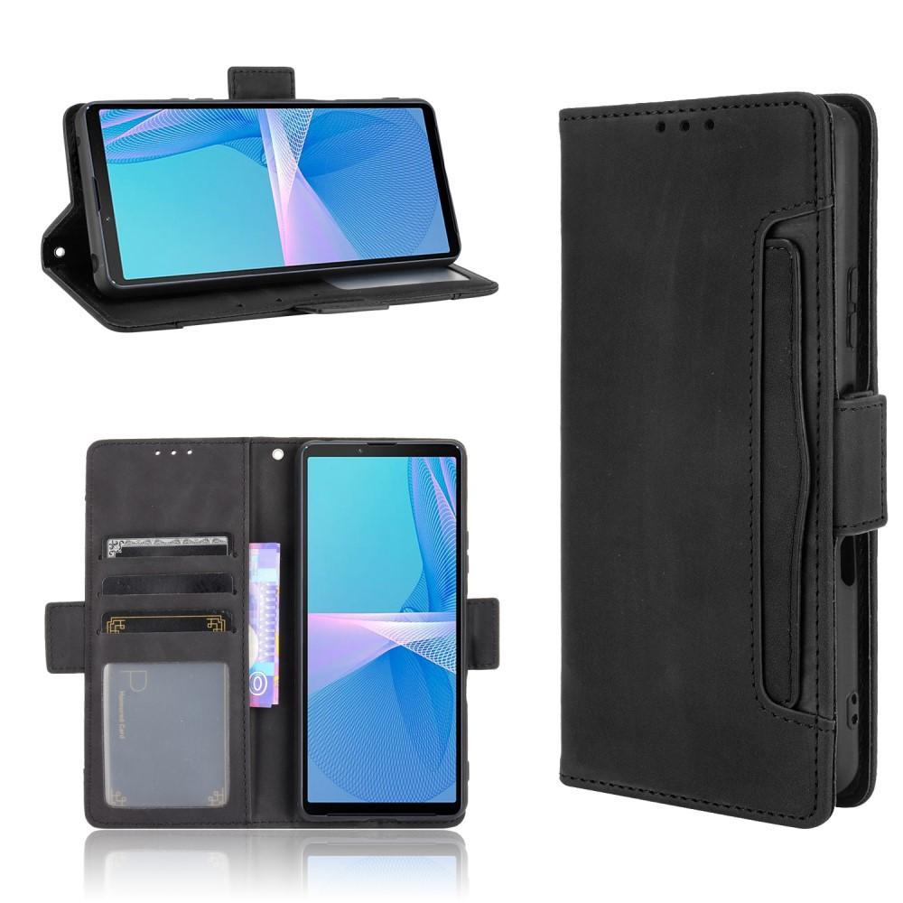 Multi Lommebokdeksel Sony Xperia 10 III svart