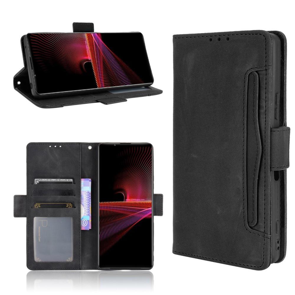 Multi Lommebokdeksel Sony Xperia 1 III svart