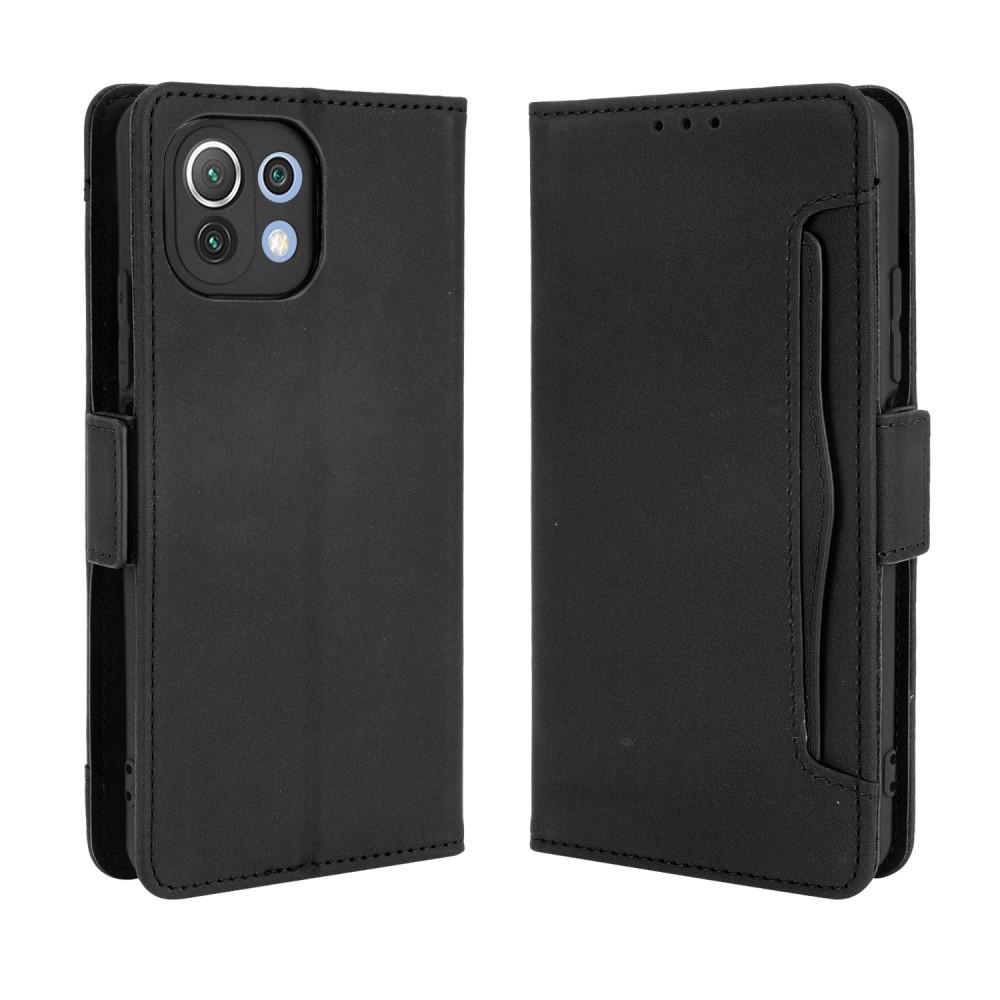 Multi Lommebokdeksel Xiaomi Mi 11 Lite 5G svart