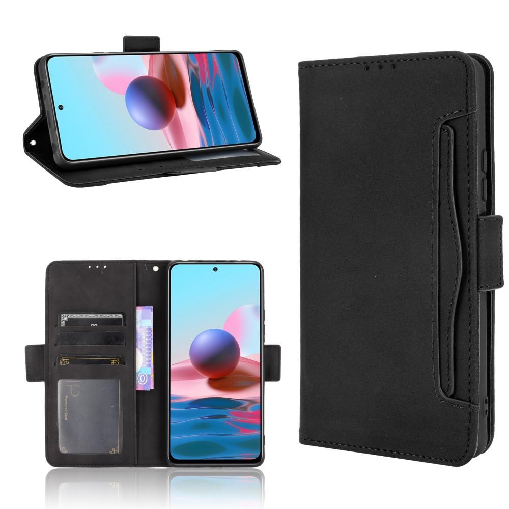 Multi Lommebokdeksel Xiaomi Redmi Note 10 Pro svart