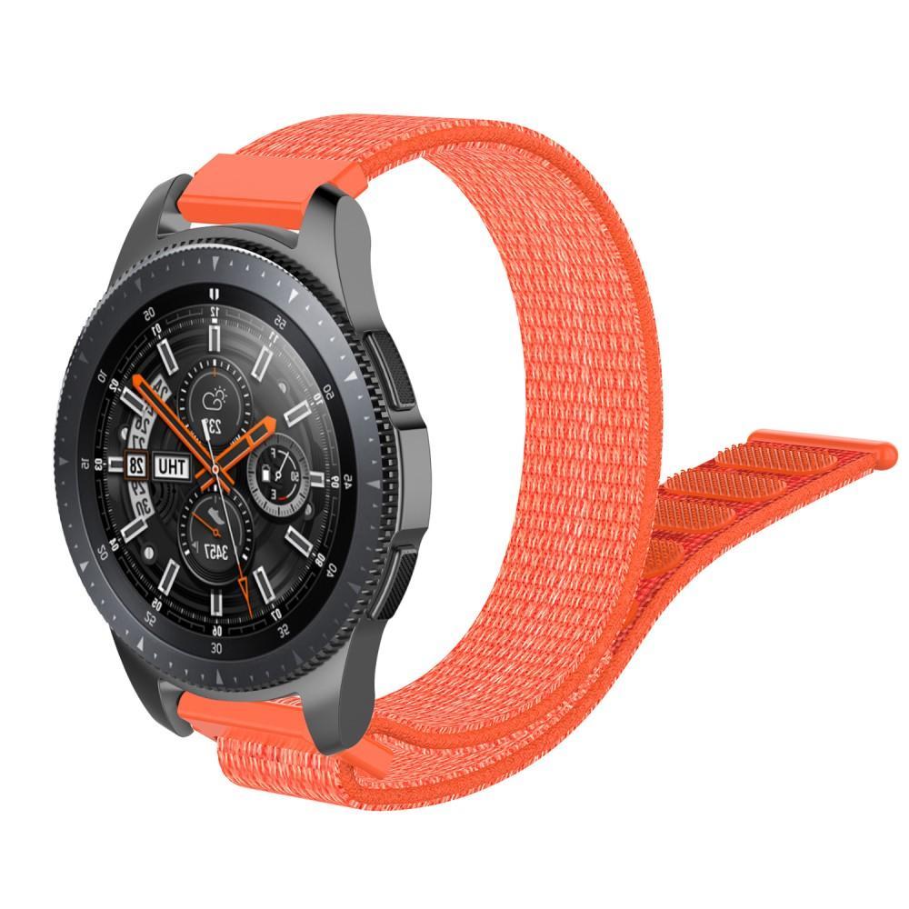 Nylonarmbånd Samsung Galaxy Watch 46mm/45mm oransje