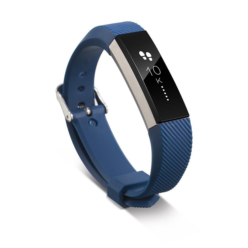 Silikonarmbånd Fitbit Alta/Alta HR blå
