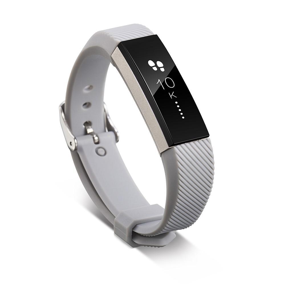 Silikonarmbånd Fitbit Alta/Alta HR grå