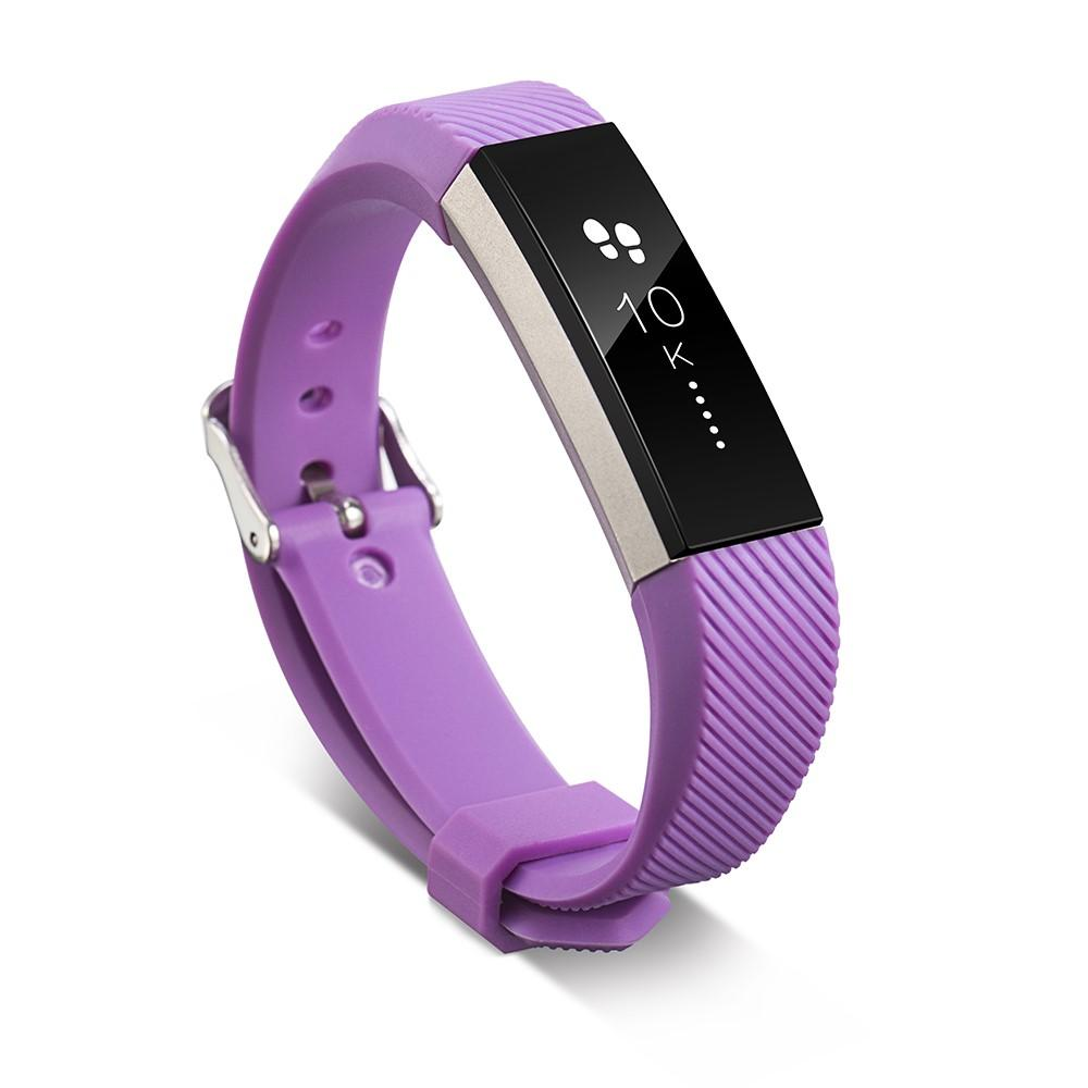 Silikonarmbånd Fitbit Alta/Alta HR lilla