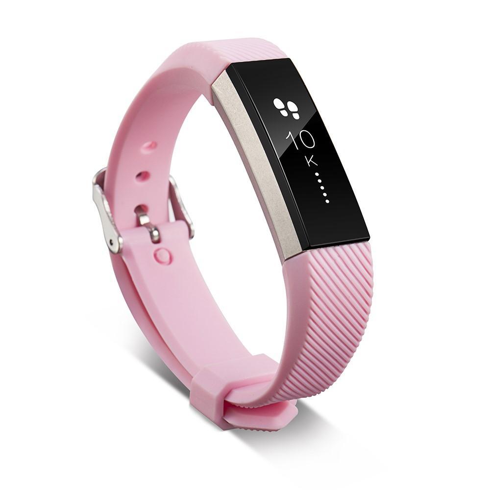 Silikonarmbånd Fitbit Alta/Alta HR rosa
