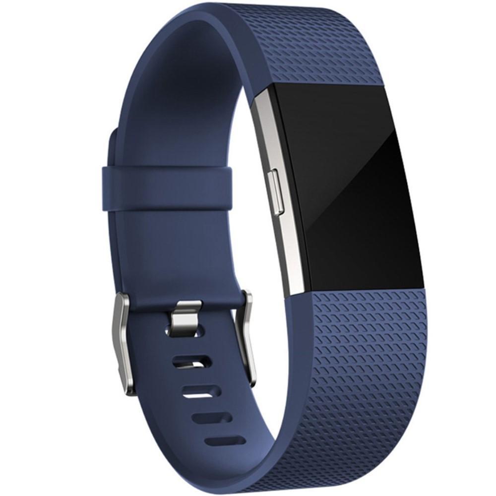 Silikonarmbånd Fitbit Charge 2 blå