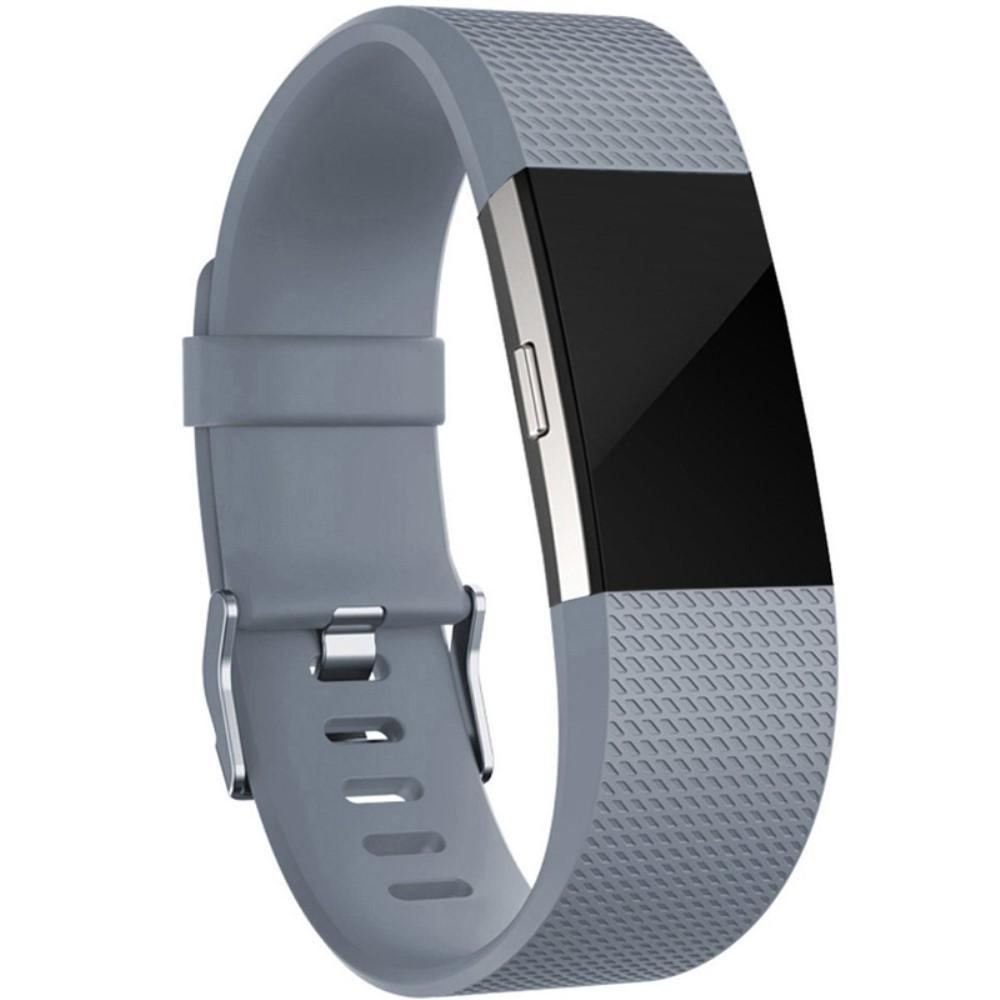 Silikonarmbånd Fitbit Charge 2 grå