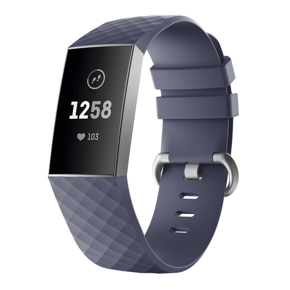 Silikonarmbånd Fitbit Charge 3/4 lilla