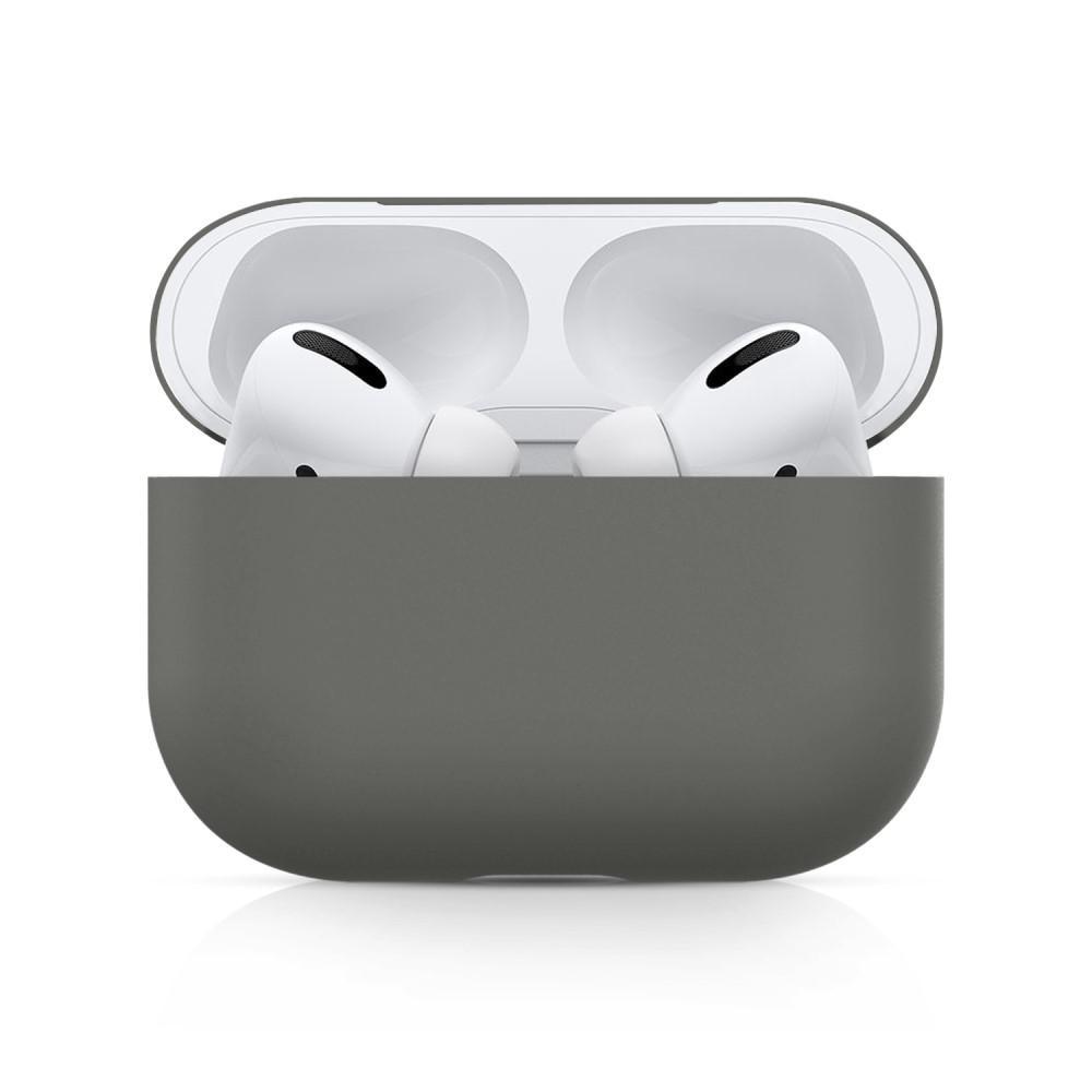 Silikondeksel Apple AirPods Pro grå