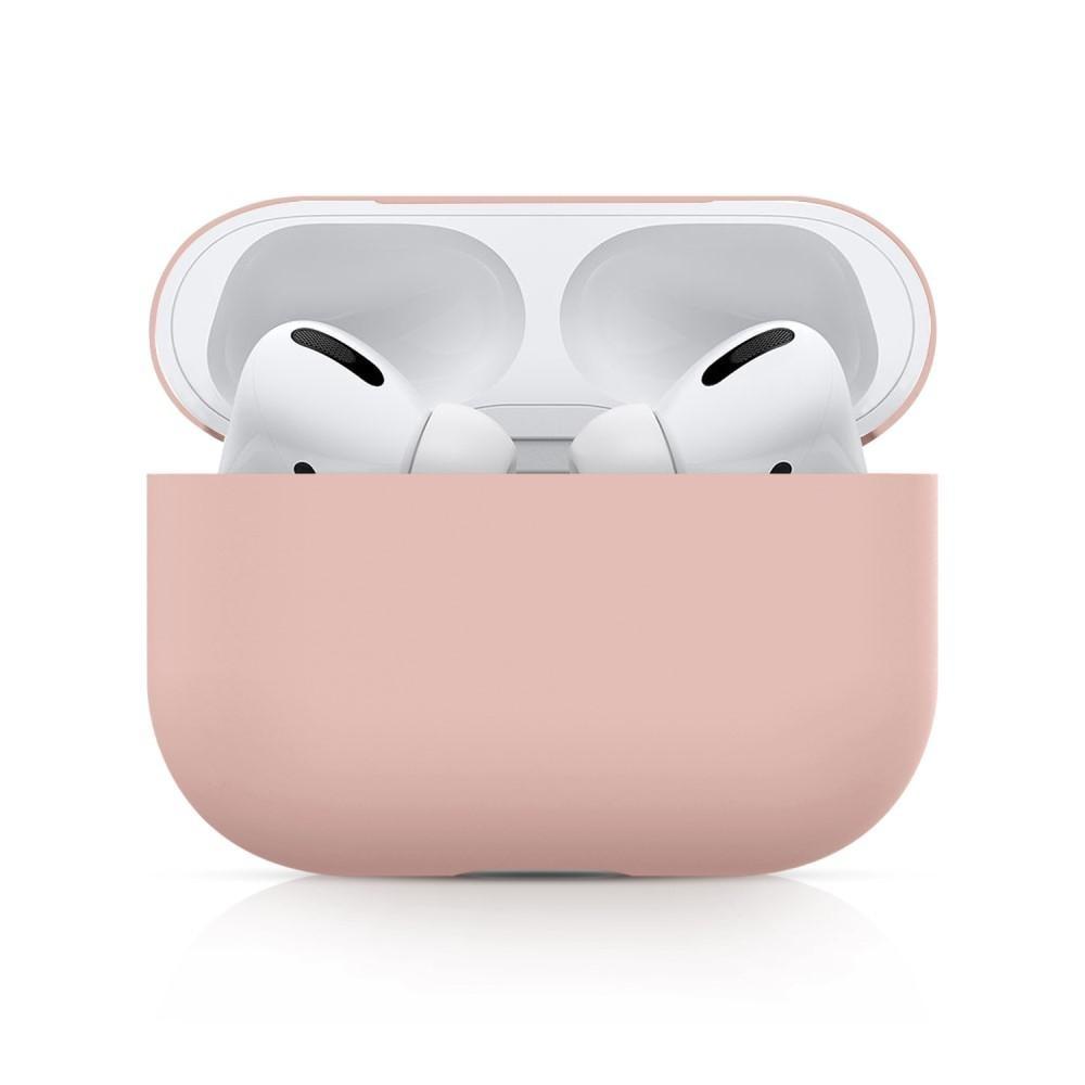 Silikondeksel Apple AirPods Pro ljusrosa