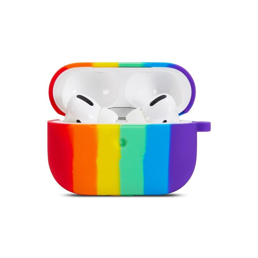 Silikondeksel Apple AirPods Pro rainbow