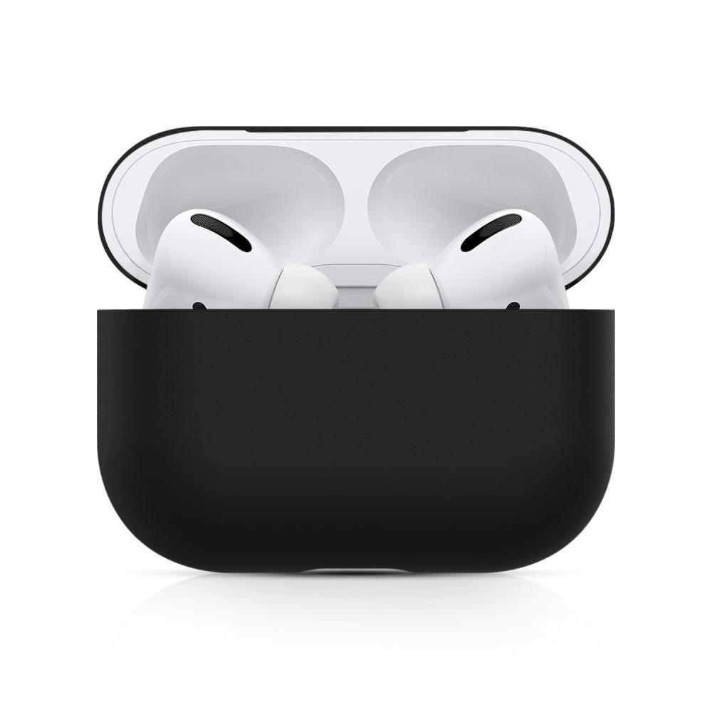 Silikondeksel Apple AirPods Pro svart