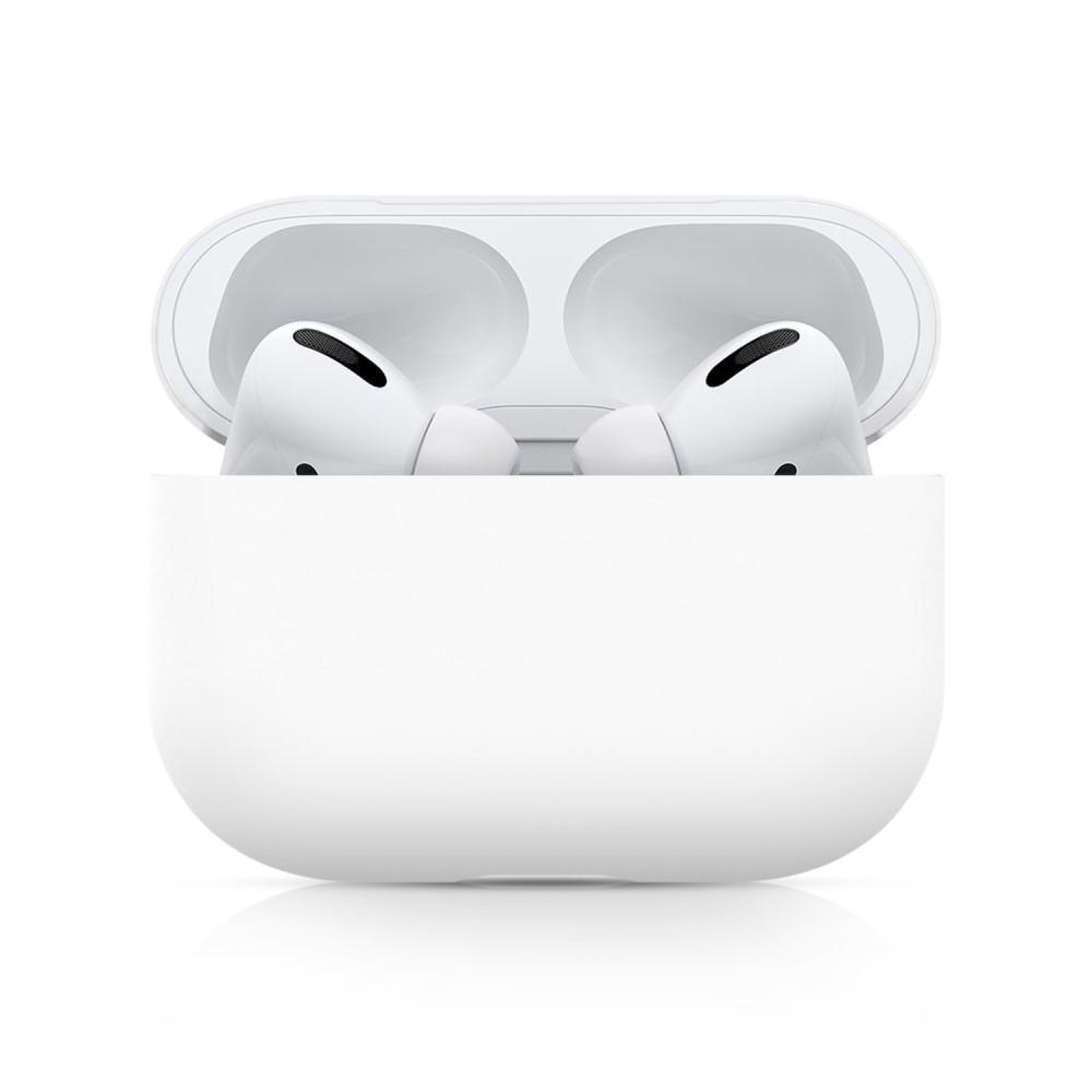 Silikondeksel Apple AirPods Pro hvit