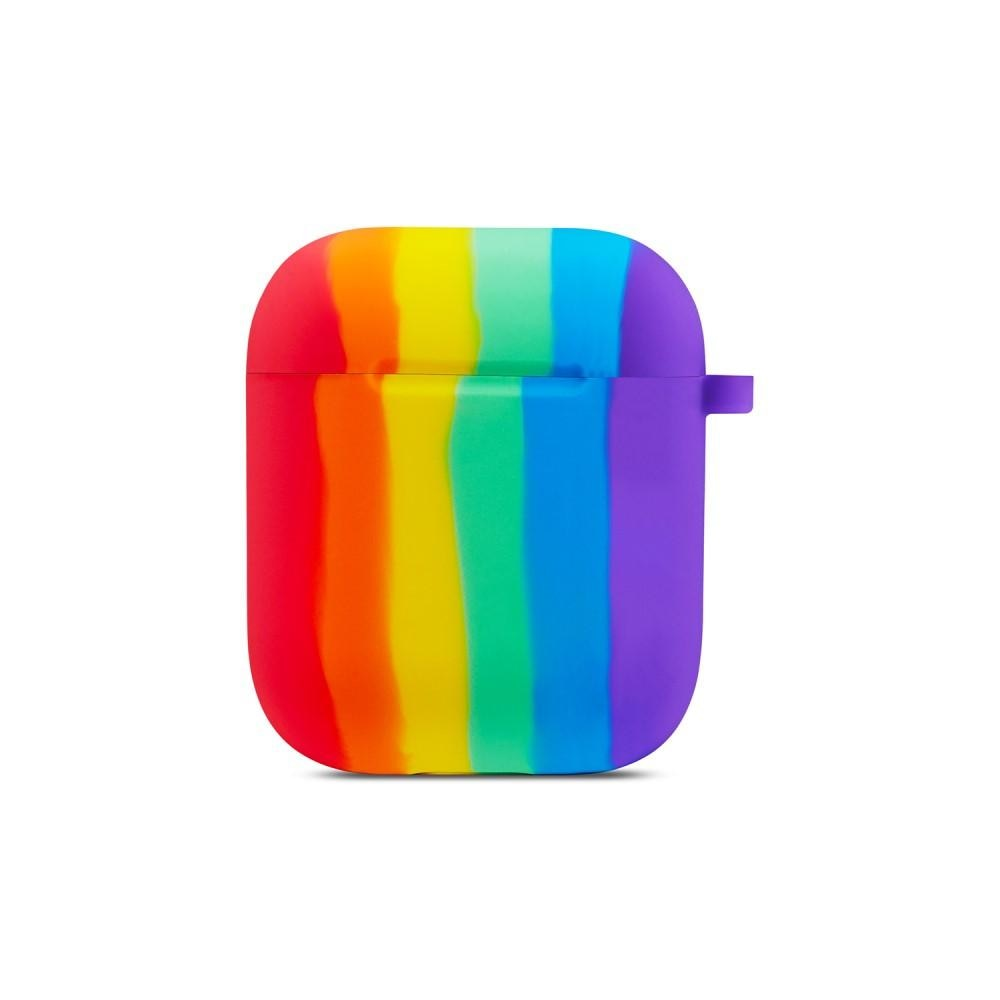 Silikondeksel Apple AirPods rainbow