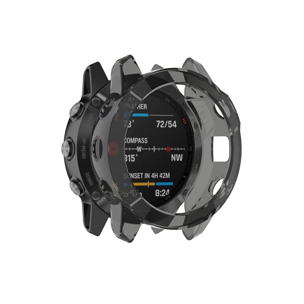 Deksel Garmin Fenix 6S/6S Pro svart