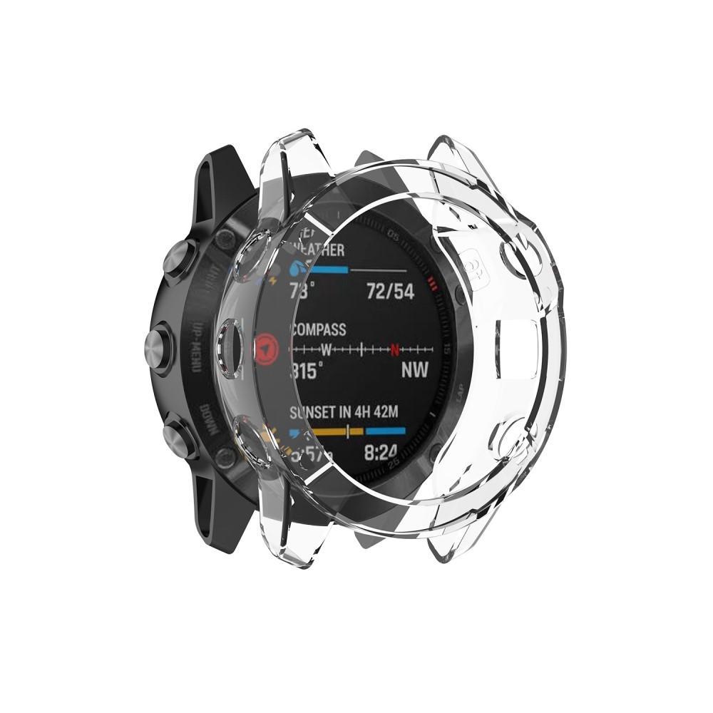 Deksel Garmin Fenix 6X/6X Pro transparent