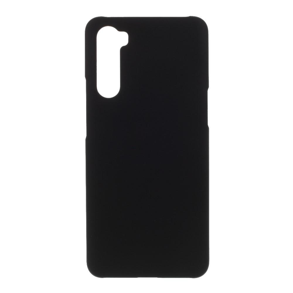 Deksel Gummiert OnePlus Nord svart