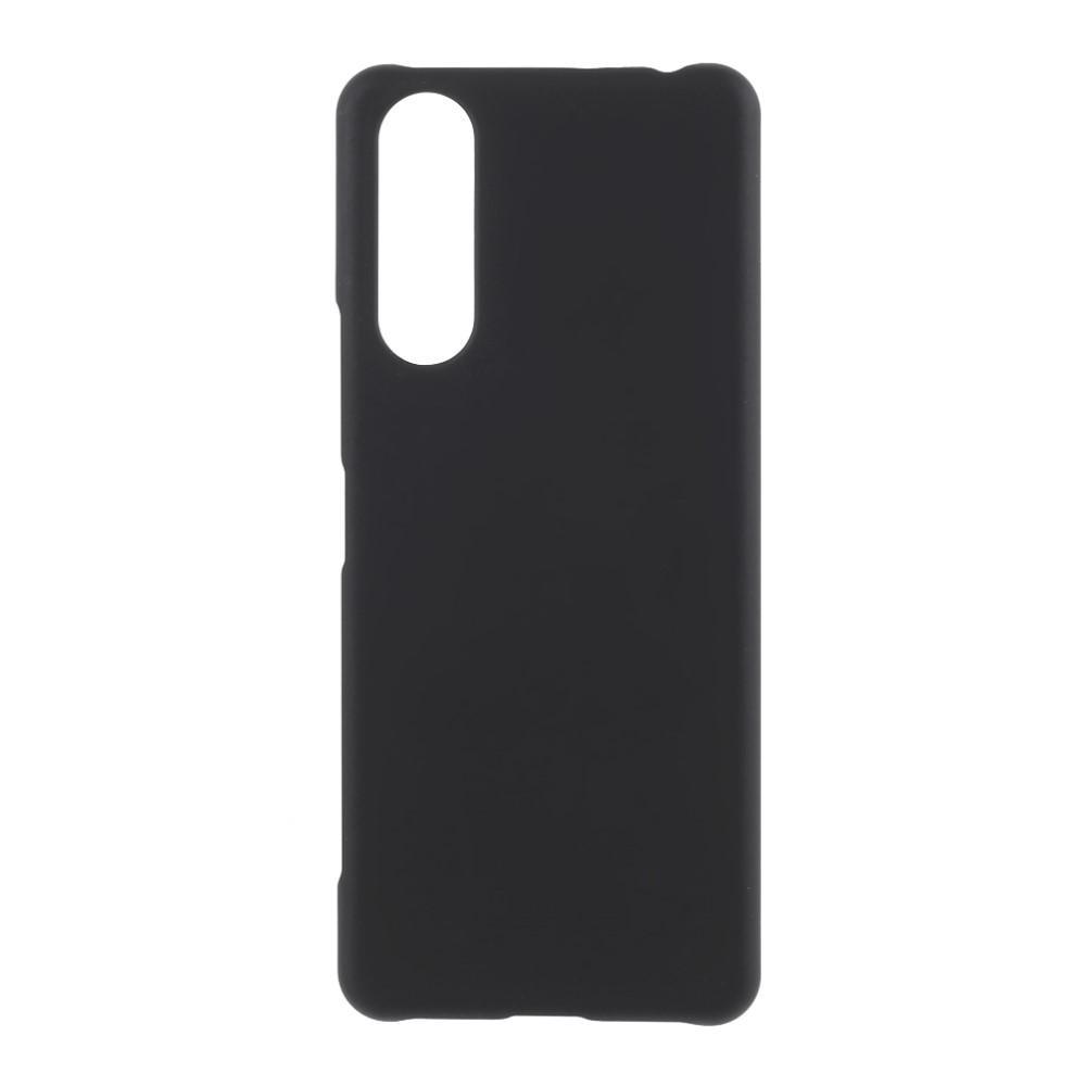 Deksel Gummiert Sony Xperia 5 II svart