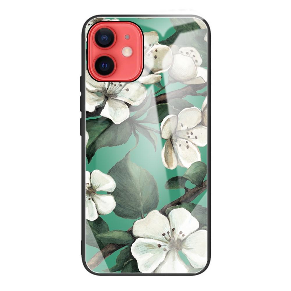 Herdet Glass Deksel iPhone 11 blomster