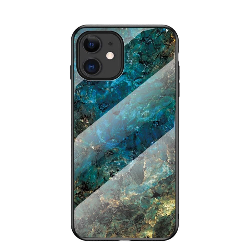 Herdet Glass Deksel iPhone 12 Mini smaragd