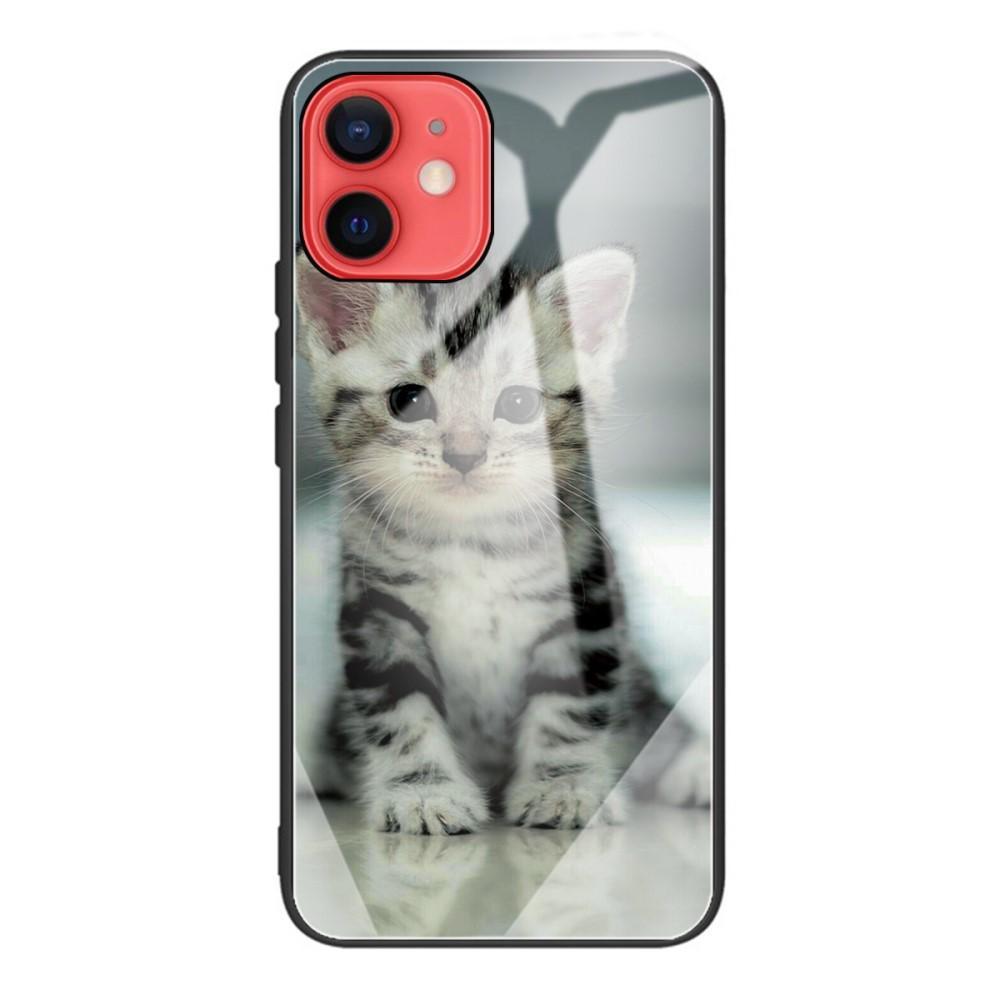 Herdet Glass Deksel iPhone 12 Mini kattunge