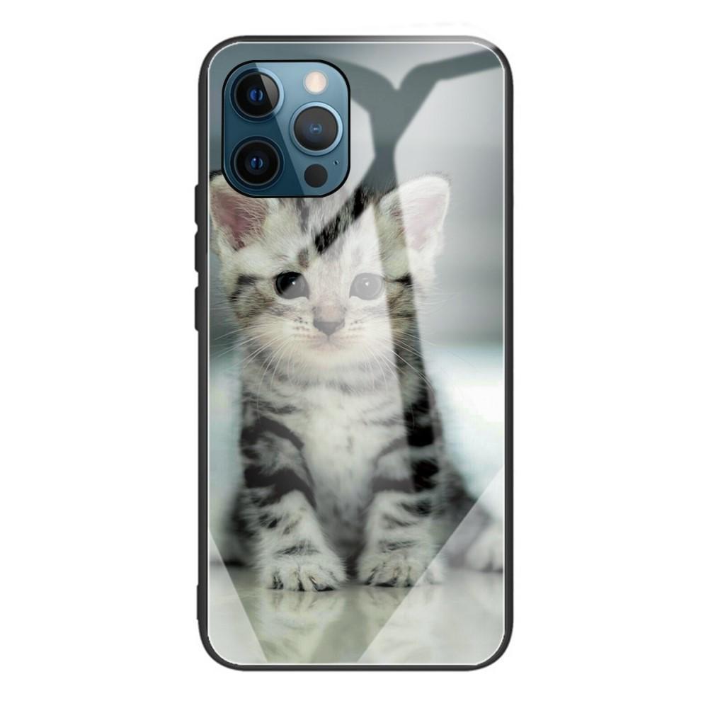Herdet Glass Deksel iPhone 12 Pro Max kattunge