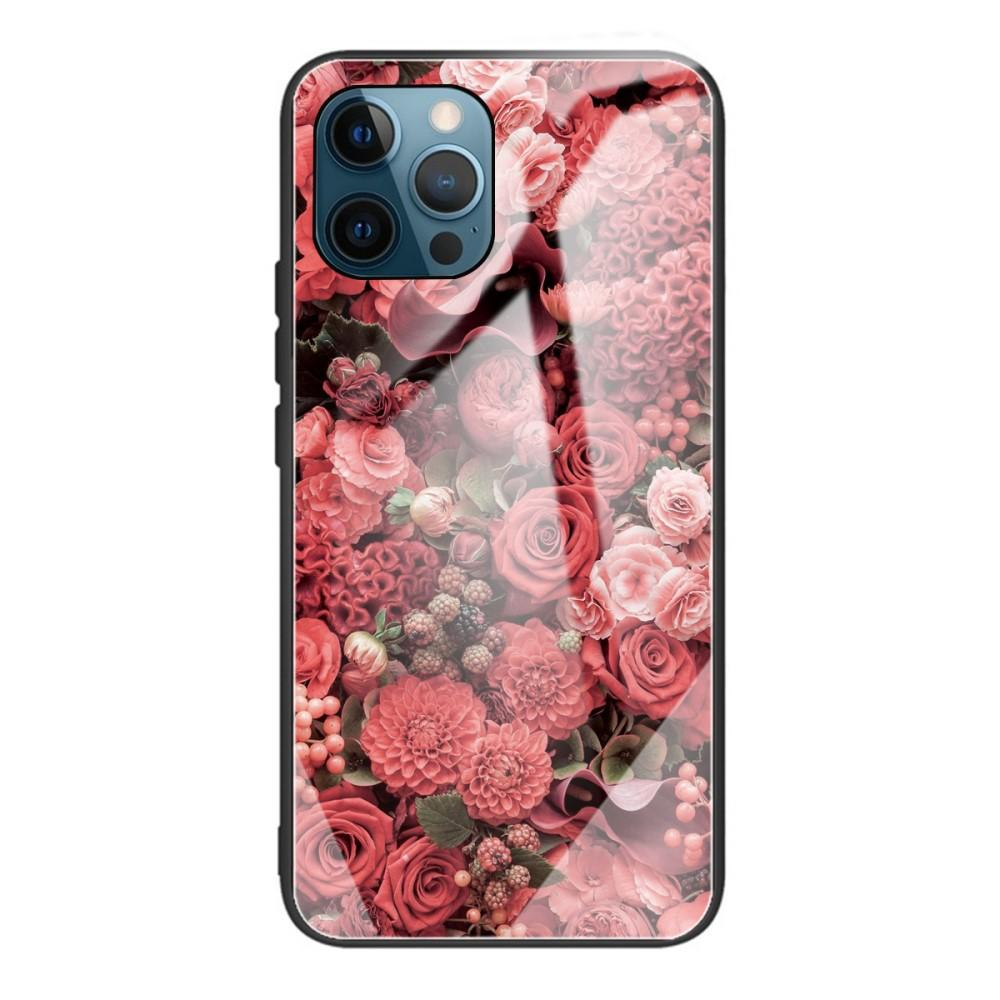 Herdet Glass Deksel iPhone 12 Pro Max roser