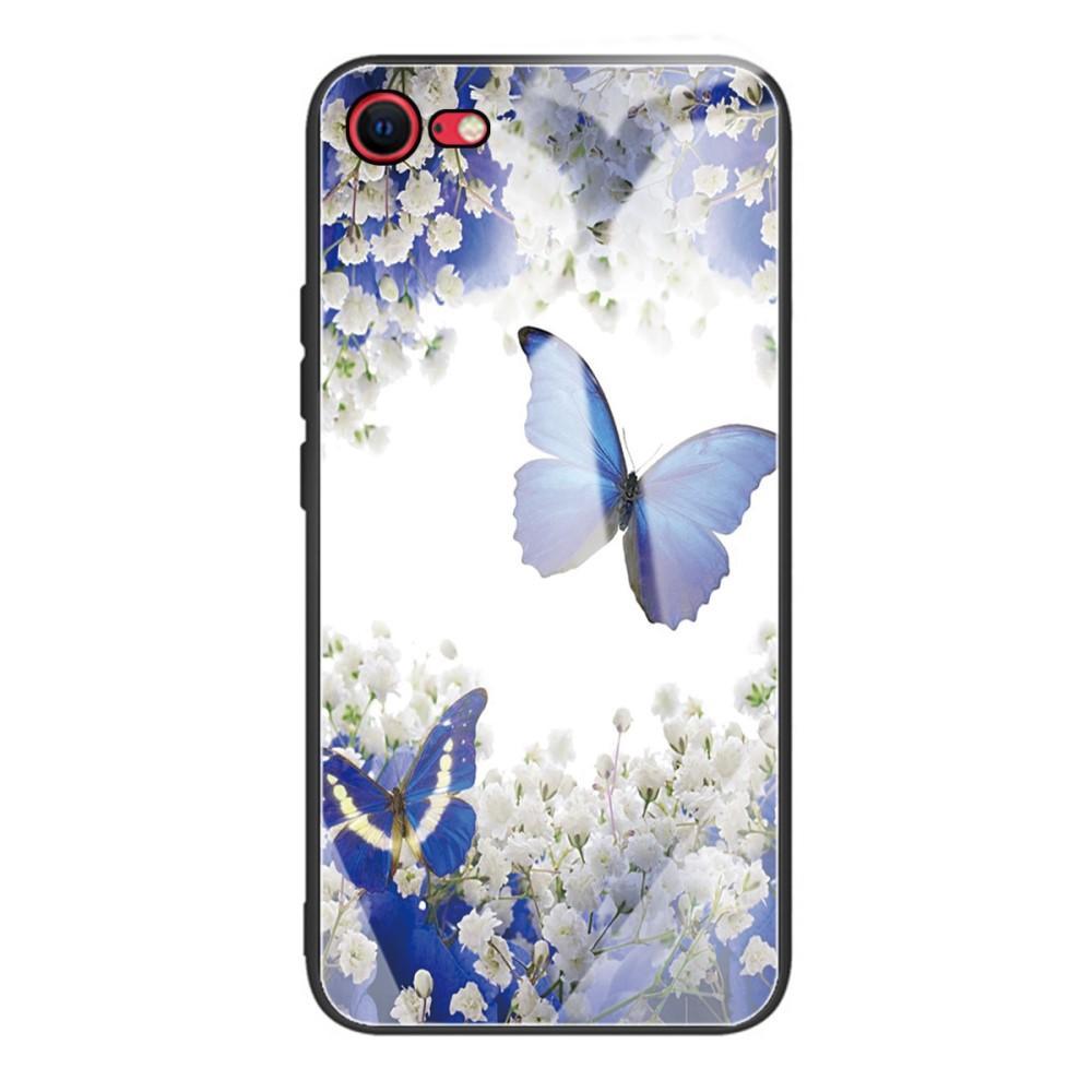 Herdet Glass Deksel iPhone 7/8/SE 2020 sommerfugler