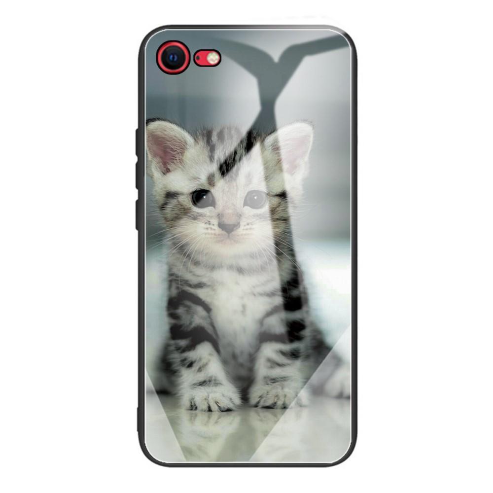 Herdet Glass Deksel iPhone 7/8/SE 2020 kattunge
