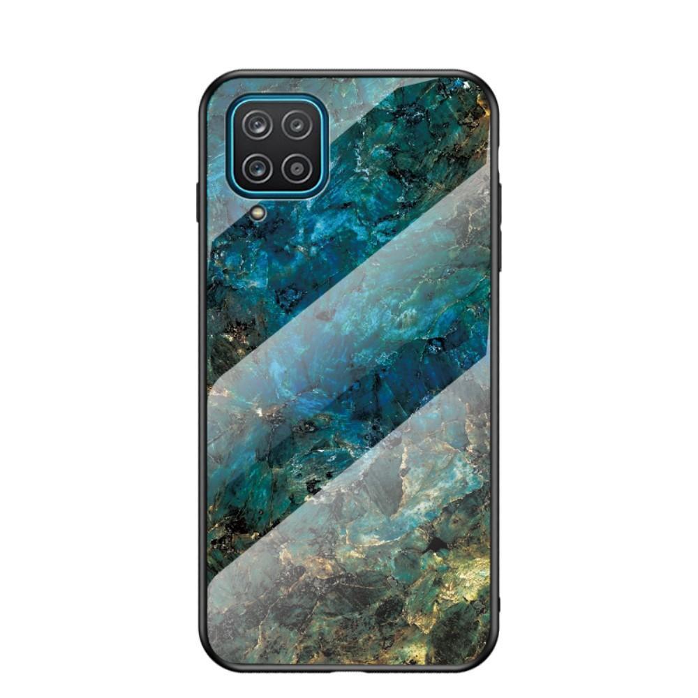 Herdet Glass Deksel Samsung Galaxy A12 smaragd