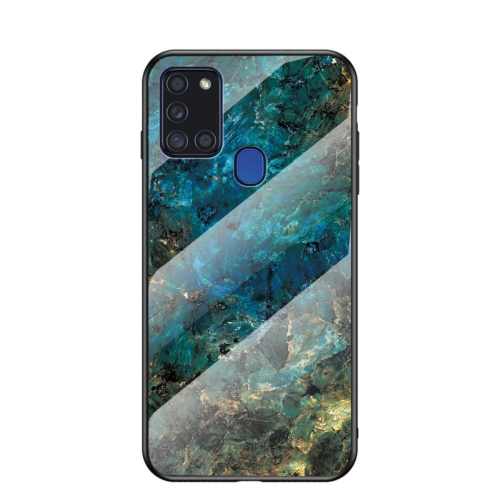 Herdet Glass Deksel Samsung Galaxy A21s smaragd