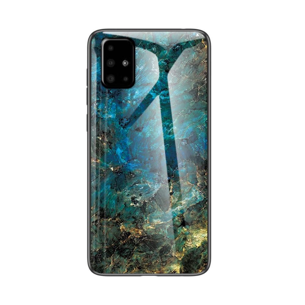 Herdet Glass Deksel Samsung Galaxy A51 smaragd