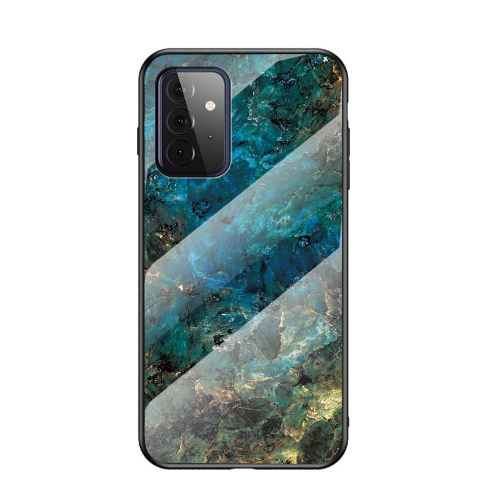 Herdet Glass Deksel Samsung Galaxy A72 5G smaragd