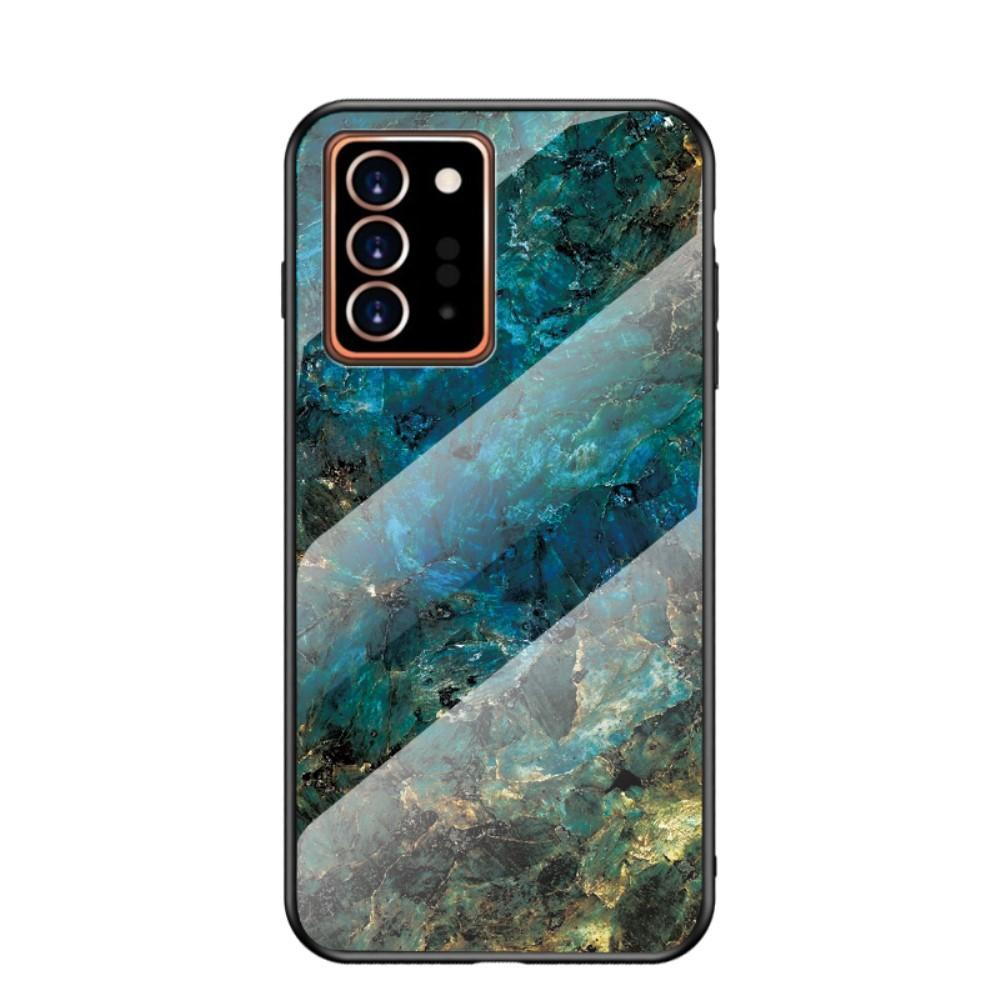 Herdet Glass Deksel Samsung Galaxy Note 20 Ultra smaragd