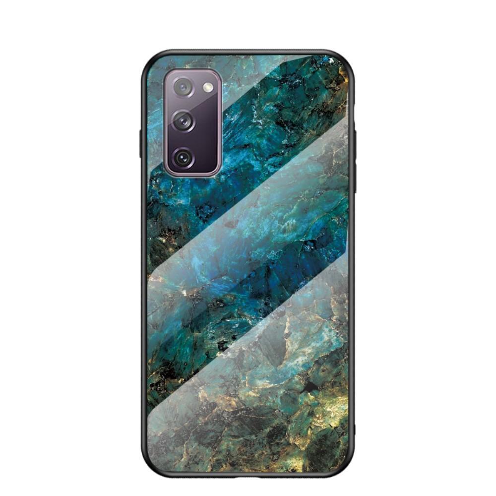 Herdet Glass Deksel Samsung Galaxy S20 FE smaragd