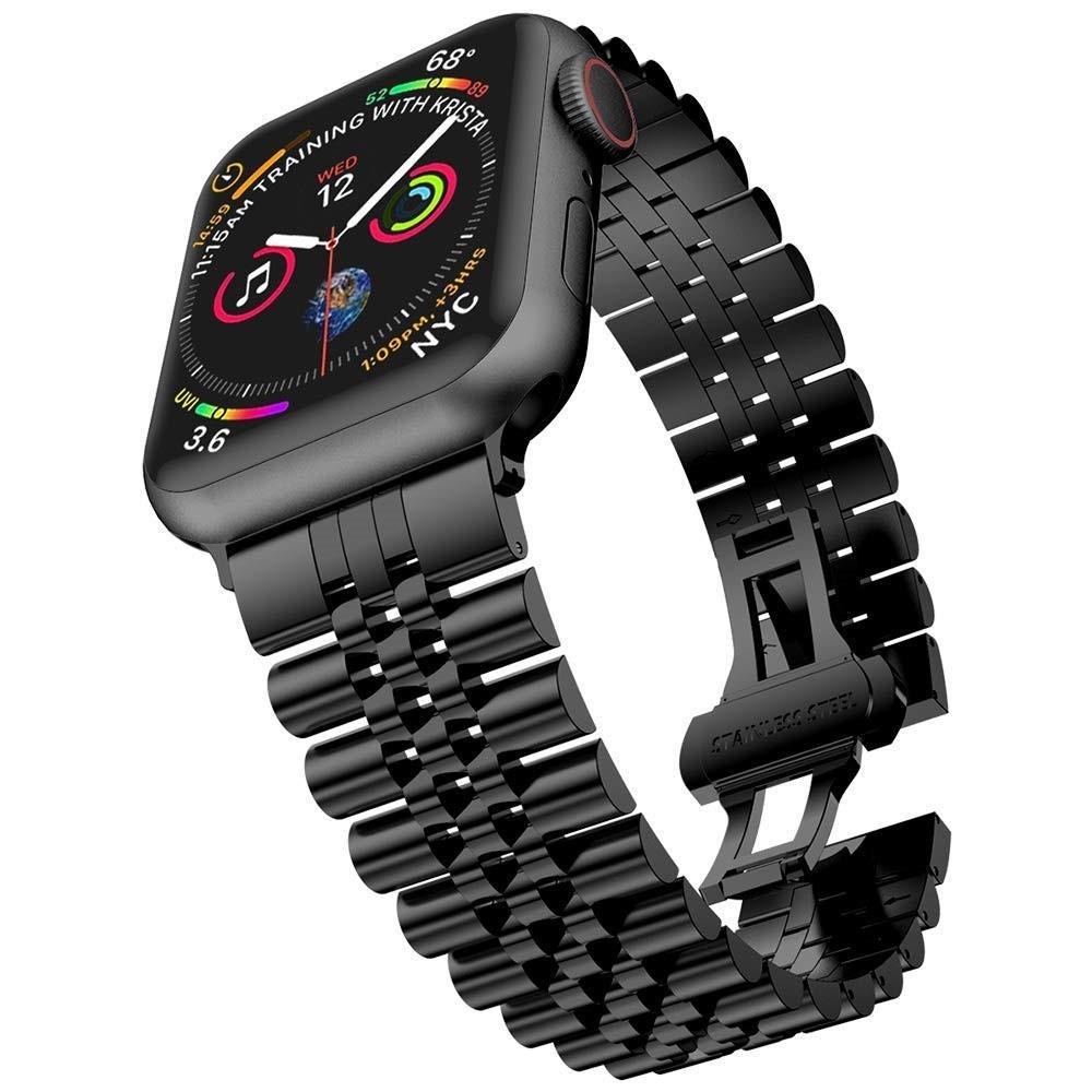 Stainless Steel Bracelet Apple Watch 42/44/45 mm Black