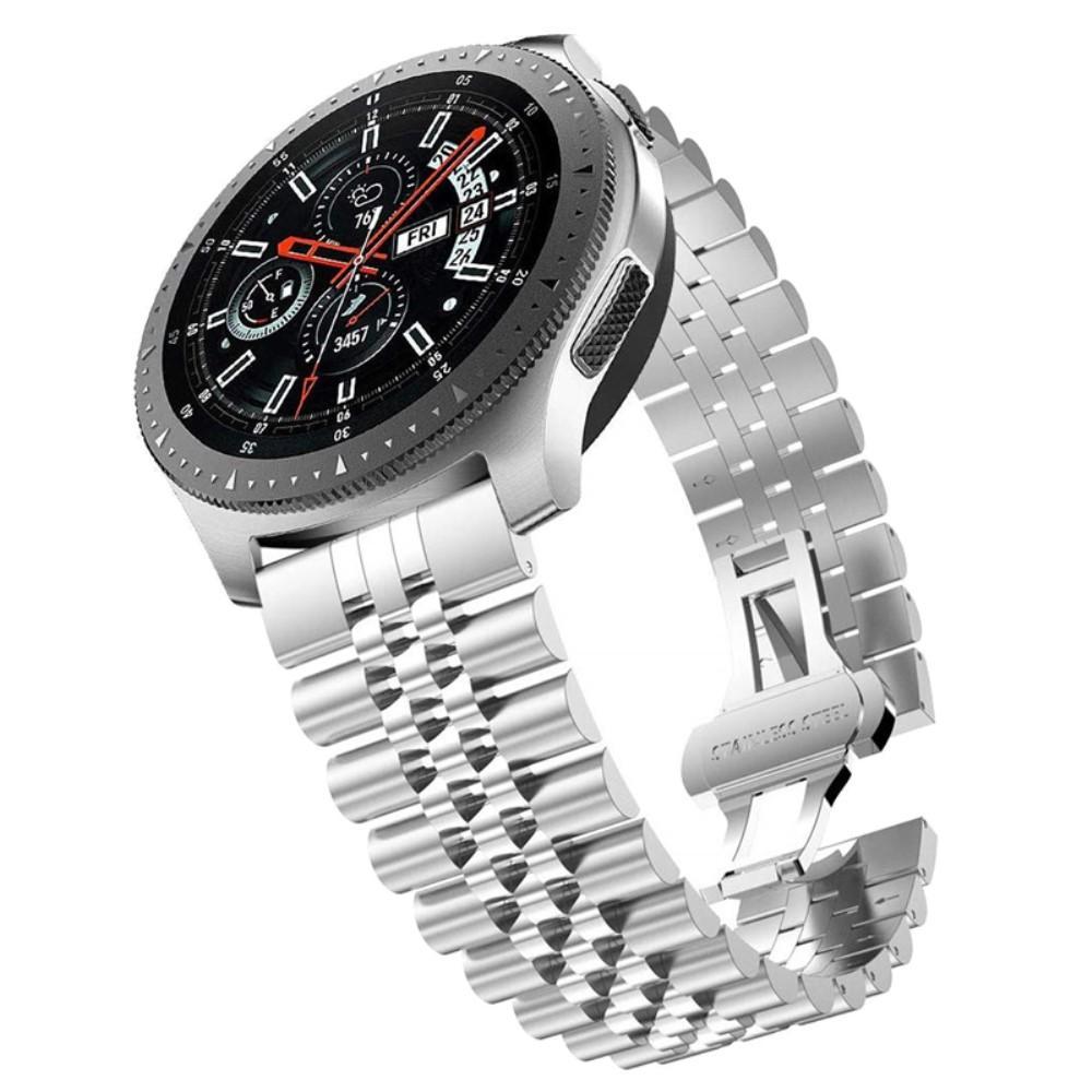 Stainless Steel Bracelet Samsung Galaxy Watch/Huawei Watch Silver