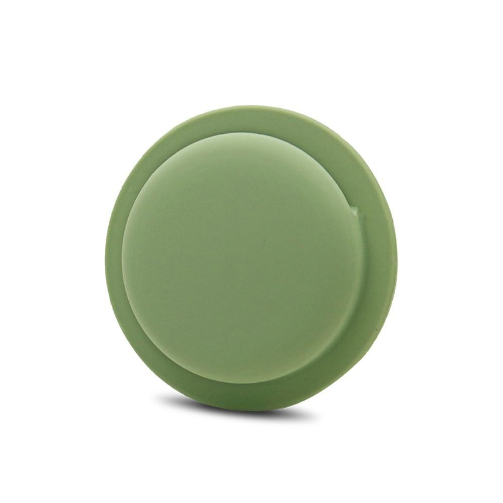 Stick on deksel Apple AirTag grønn
