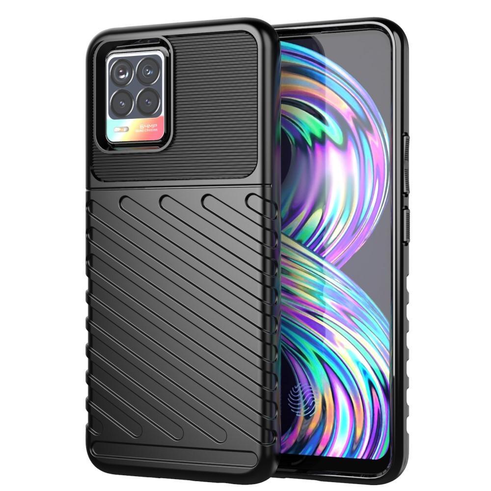 Thunder TPU Case Realme 8/8 Pro Black